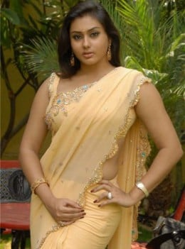Namitha In saree