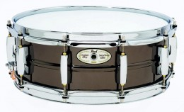 Pearl SensiTone Elite Brass Snare.