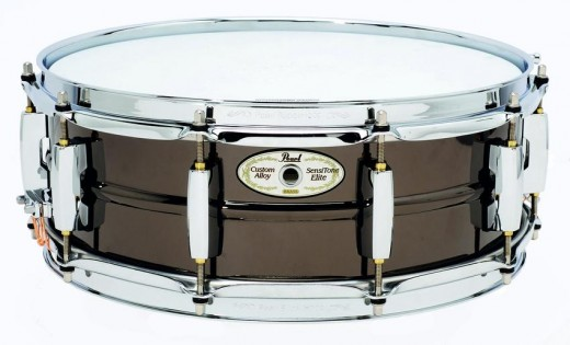 Pearl SensiTone Elite Brass Snare.