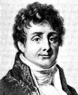 Joseph Fourier.  This famous French mathematician inferred and quantified the greenhouse effect in 1828.