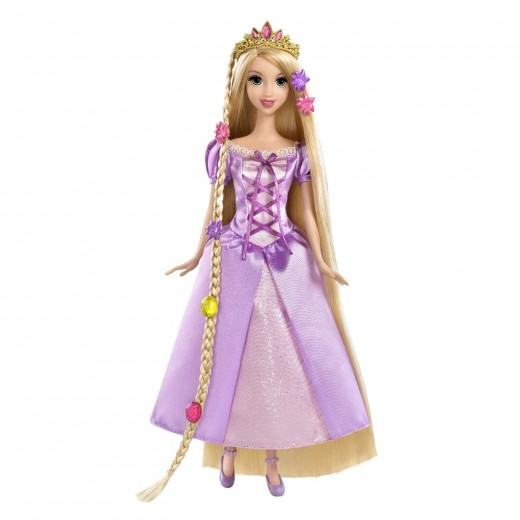 Disney Tangled Featuring Rapunzel Grow and Style Doll from Mattel