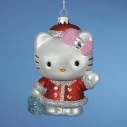 Hello Kitty Christmas Tree Ornaments are Here!