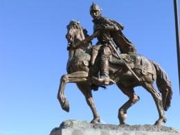 STATUE OF CONQUISTADOR DON JUAN DE ONATE