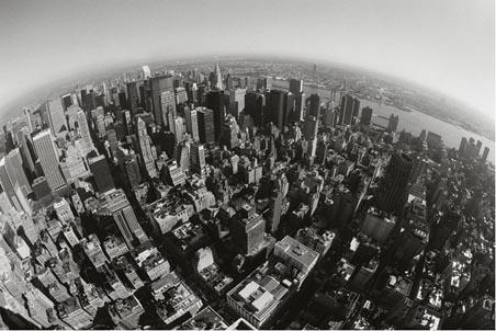 Manhattan, New York from the Air