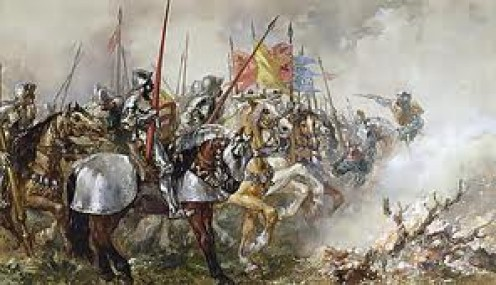 The Battle of Agincourt, October 25th, 1415