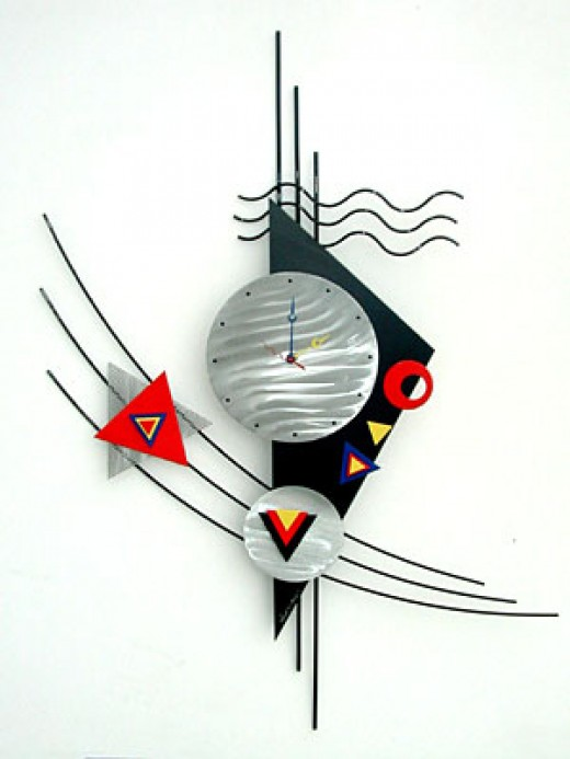 Custom Wall Clocks Fig. 1