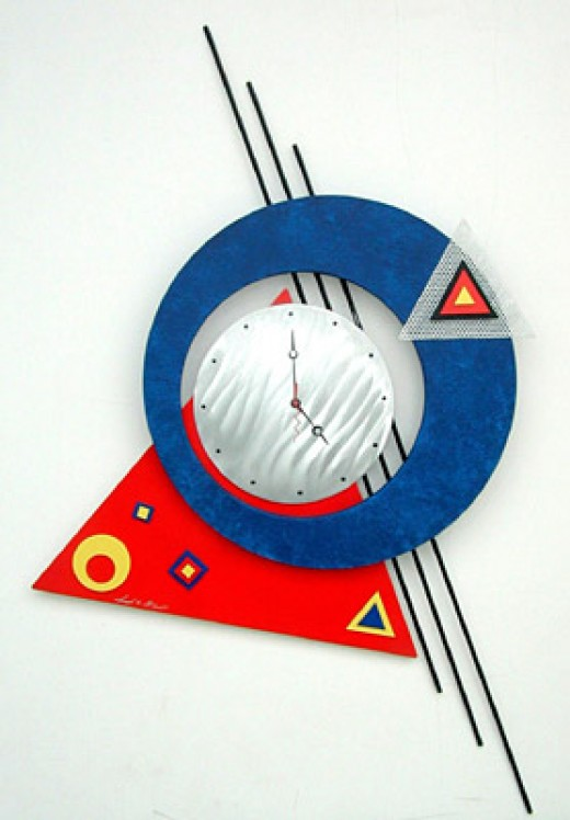 Metal Wall Clocks Fig. 2