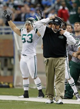 Jets Roar to Life Late, Tame the Detroit  Lions in OT, 23-20 on Nov 7, 2010