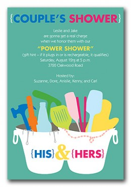 Bridal Shower Invitations – Tips for Couples' Showers