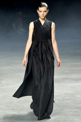 Rick Owens Spring 2011. Swimmy Swimmy Serious Face.
