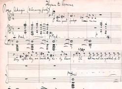score of a RIG VEDIC hymn