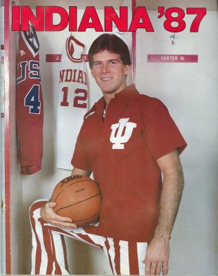 Hooier Basketball player and Olypian Steve Alford