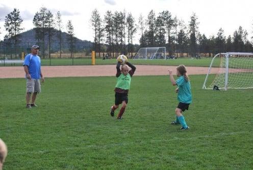 2nd grade soccer team