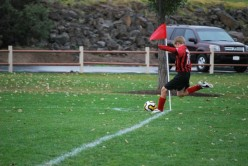 Another great corner kick shot