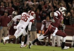 sophomore WR Alshon Jeffery (South Carolina)