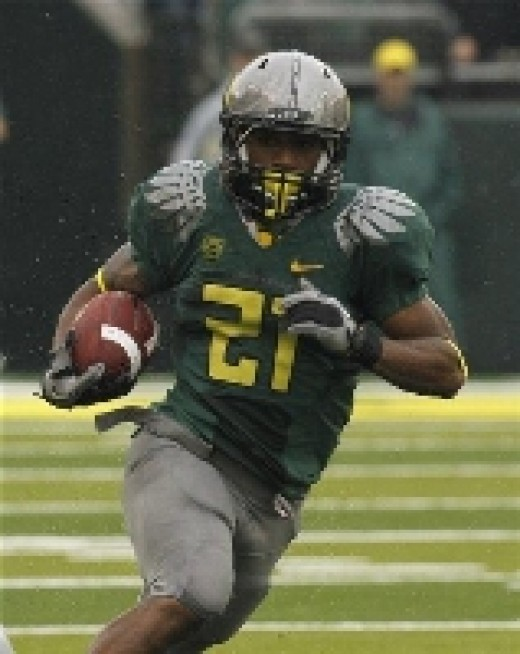 sophomore RB LaMichael James (Oregon)