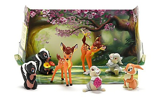Bambi 7-piece Play Set