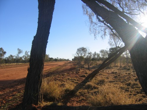 Many aboriginal communities can only be accessed by dirt roads.