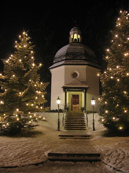 Slent Night chapel in Oberndorf, Austria Commons, Wikimedia.org