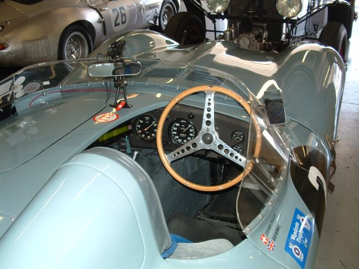 Jaguar D Type instruments