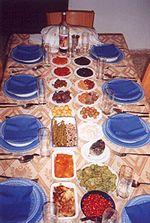 Rosh Hashana setting