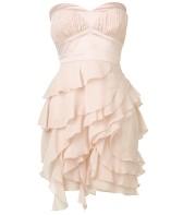 Chiffon Tiered Bandeau Lipsy Dress