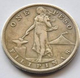 i am pinoy: Old Philippine 1 Peso Coin