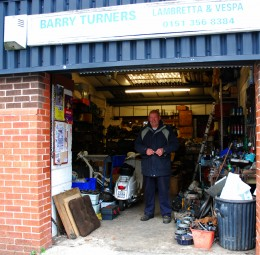 "The Northwest's famous ""Barry Turner"" of Scooter Warehouse.Highly recommended"