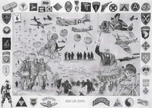 D-Day: Day of Days by Dave Harris