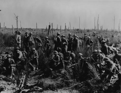 World War I Meuse-Argonne Offensive, possibly the bloodiest battle in U.S. history.