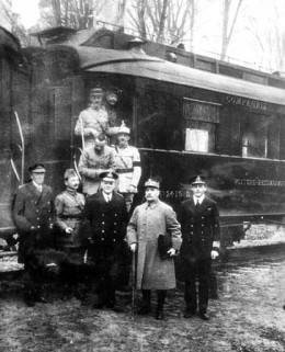 November 11, 1918, the armistice agreement was signed on this train carriage in France.