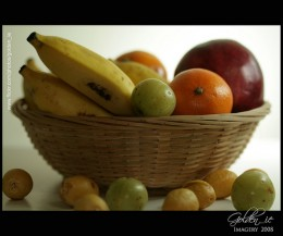 Fruits - A healthy component of the vegetarian lifestyle