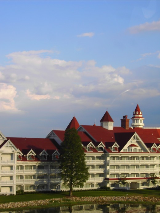 Try booking a room at the Grand Floridian Resort and Spa if money allows! Not only does it have a great spa and atmosphere, but it has a restaurant where you can dine with no screaming kids under 10 in sight!