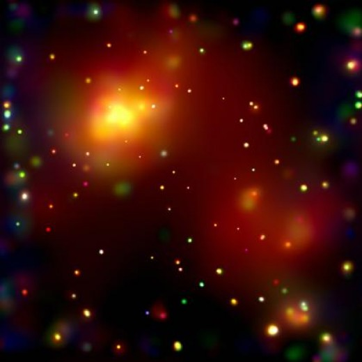 A view of a piece of the universe