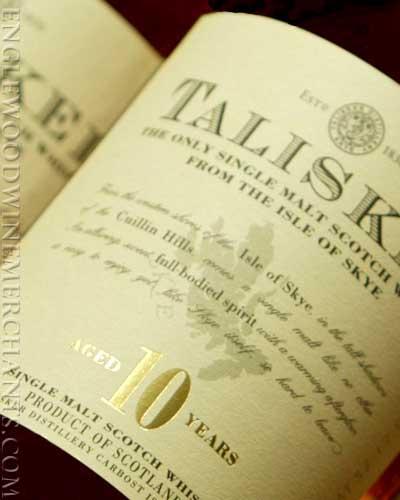 Talisker Scotch Whiskey