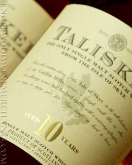 Talisker Scotch Whiskey