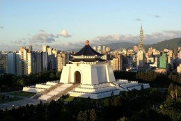 Chiang Kai-shek Memorial Hall, Taipei.