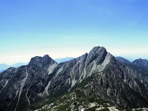 Yushan (Jade Mountain).