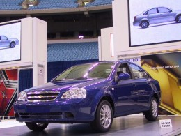 New Chevrolet Optra 2011 - Dazzling Blue color