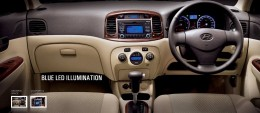 Hyundai Verna Transform Dashboard steering, stereo display