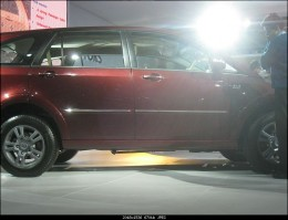 Tata Aria pics Close view