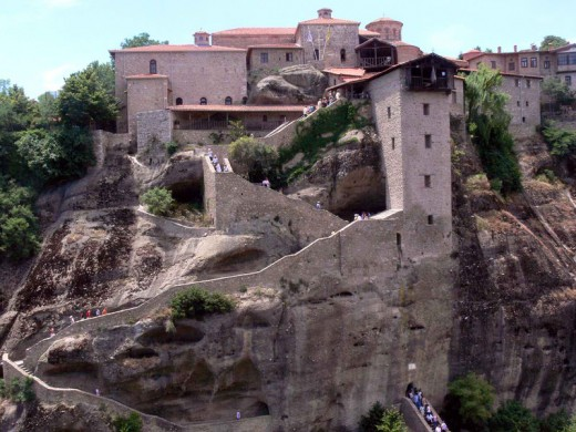 The Holy Monastery of Great Meteoron (Photo taken by Fingalo, 17June2007)