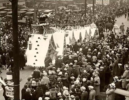 The Toronto Santa Claus Parade - 1930