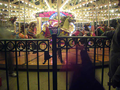 The Historic Carousel. I rode the horse on display when I was a child.