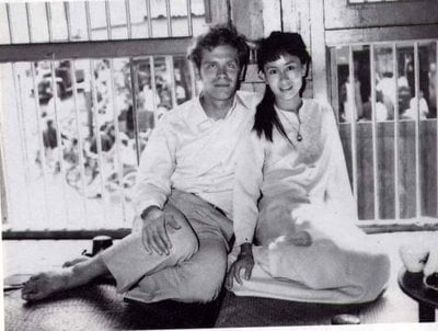 Suu Kyi and Aris-happy were the byegone days.