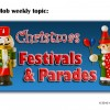 Christmas Celebrations and Festivals in Small Town USA