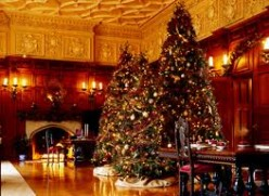 Christmas in North Carolina-The Biltmore Estate in Asheville.