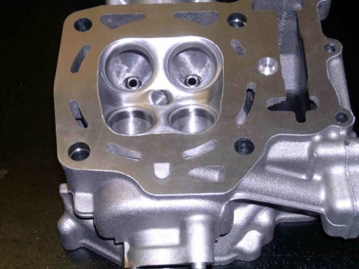 Cylinder Head porting includes full race porting and valve job.