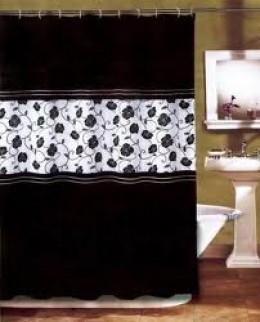 Luxury shower curtain