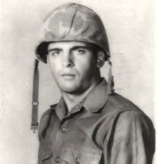 My dad, USMC.... He was only nineteen in this picture.
